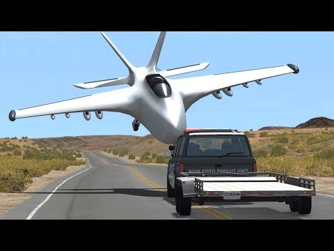 BeamNG Drive INSANE CRASHES #65