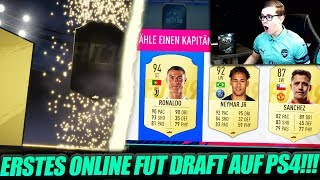 FIFA 19: MEIN ERSTES ONLINE FUT DRAFT!! PACK OPENING REWARDS!! 🔥🔥 - FIFA 19 Ultimate Team (Deutsch)