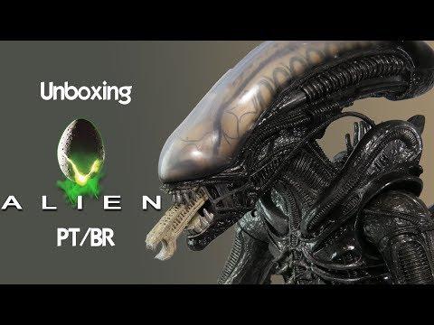 Caixa de Pandora #119 - Alien - Neca - 18 Polegadas - PT/BR