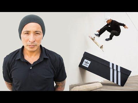 Daewon Song Skates His Shoe... Box