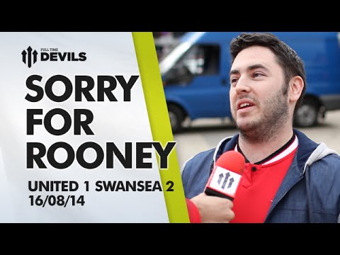 Rooney Deserved More | Manchester United 1 Swansea 2 | FAN CAM