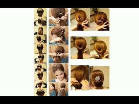 Как сделать себе прическу в домашних условиях на средние волосы мальчику