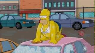 Carwash Scene - Homer Simpson & Peter Griffin