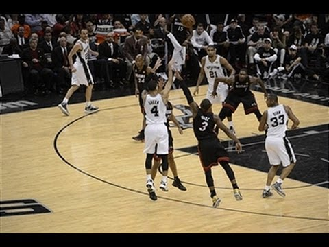 Top 5 Plays of the Night: Heat at Spurs Game 5