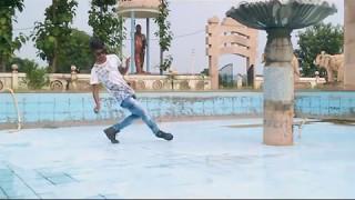 Dubstep Indian dance__bullet train || robot dance || popping