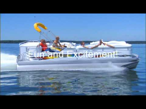 Hottest Pontoon Boats On The Water! video