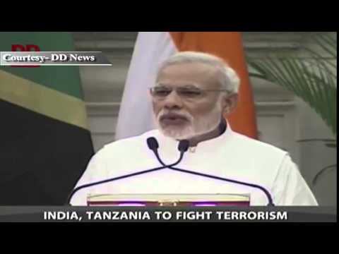India Tanzania agree on maritime security, terrorism, increasing trade