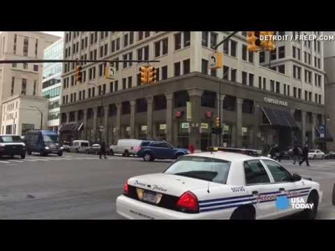 Downtown Detroit suffers massive power outage