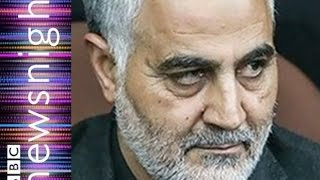 Is this Iranian the most powerful man in Iraq? - Newsnight