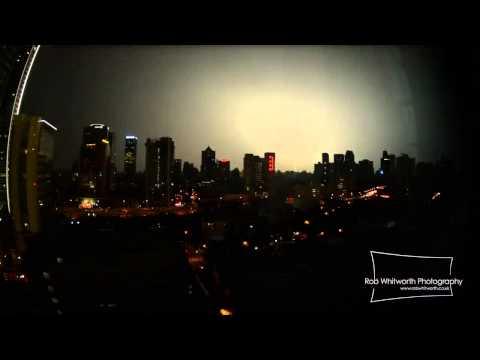 Shanghai Lightning Storm Jul2013