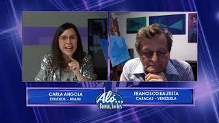 Kico casi le menta la madre a Carla Angola - Aló Buenas Noches EVTV 12/19/18 S4