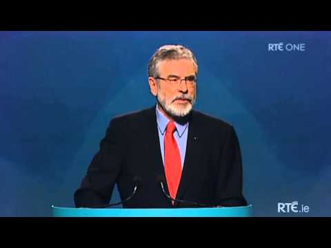 Gerry Adams - Presidential Address to the Sinn Féin Ard Fheis 2014
