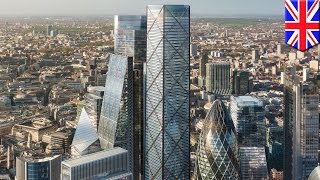 Tallest building in City of London revealed: 1 Undershaft to match Shard building height - TomoNews