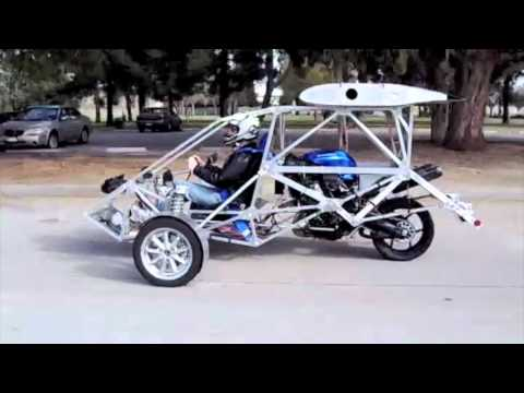 CaraVellair Reverse-Trike Roadable Aircraft Road Test