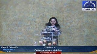 Enseñanza: Pautas para alabar al Señor - Hna. María Luisa Piraquive