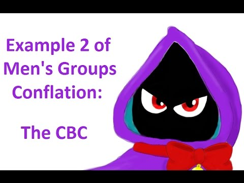 Example 2 of Conflation of Men's Groups: The CBC