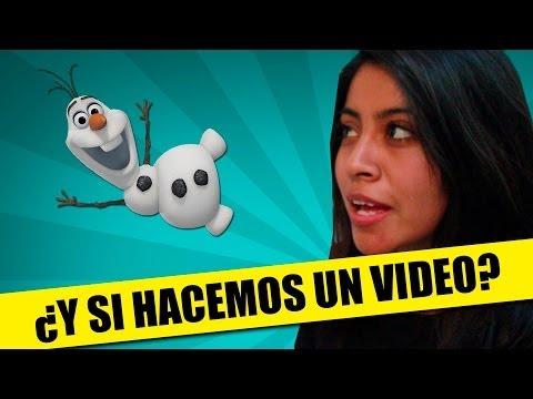 ¿Y Si Hacemos Un Video? | PARODIA: ¿Y Si Hacemos Un Muñeco? (Frozen) | QueParió! ft. Musas
