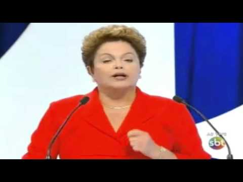 Debate SBT: Dilma afirma que Marina defende a autonomia do Banco Central
