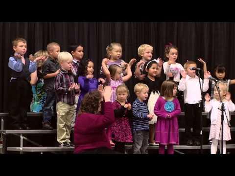 Santiam Christian School's Preschool Presentation at Grandparents Day 2012