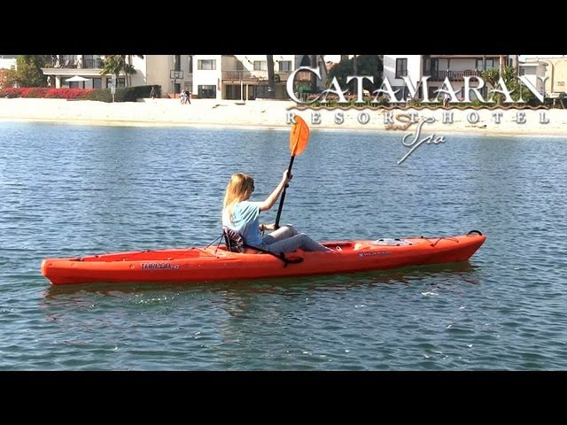 San Diego Activities - Kayaking at Catamaran Resort