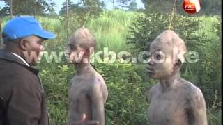 Circumcision rite among the Bukusu of western Kenya