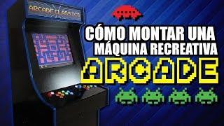 Cómo construir una Máquina Recreativa (Arcade) desde cero