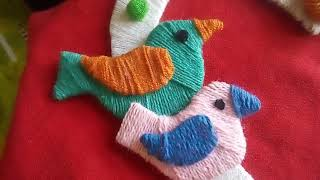 Wall hanging showpiece From woolen /art and craft magical work /woolen diy crafting. (part - 2)