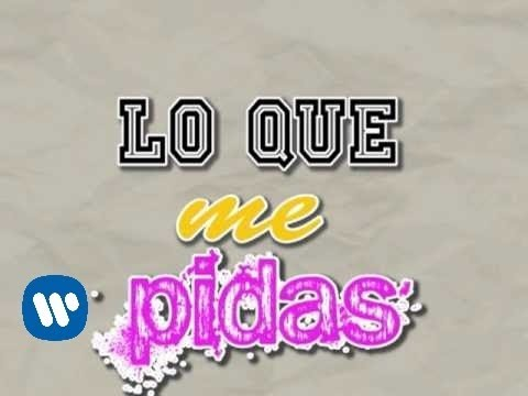 Jesse & Joy - Me Voy (lyric Video) video