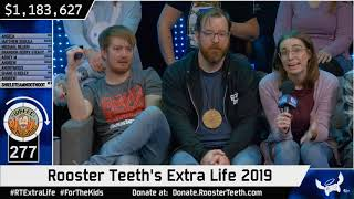 Jack P and The closing moments of RTExtraLife 2019