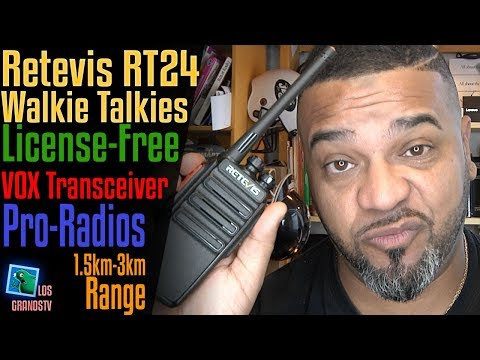 Retevis RT24 License-Free PMR446 Walkie Talkies 🔊  : LGTV Review
