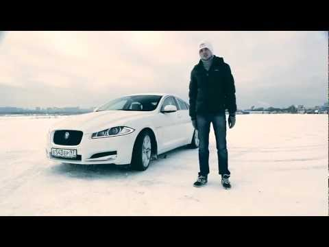 Тест Jaguar XF-S: дрифт Никиты Шикова в Тушино