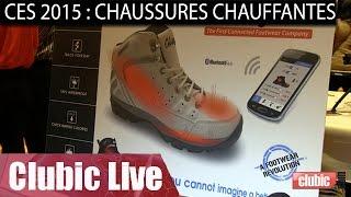 CES 2015 : chaussures et semelles chauffantes connectées