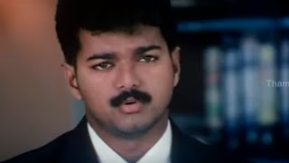 "Vijay's Mass Arguements At Court - ""Thamizhan"" Movie Scene"