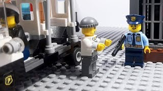 Lego City Prisoner Transport | Lego Stop Motion | Cartoon For Kids