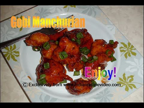 Gobi Manchurian  Recipe Video - Cauliflower Manchurian by Bhavna
