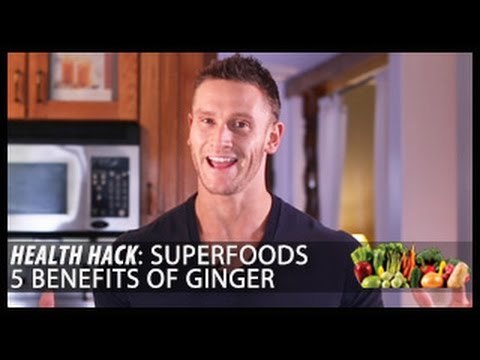 Superfoods   5 Benefits of Ginger: Health Hack- Thomas DeLauer