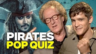 Guess the Real Pirate! With The Newest Pirates of the Caribbean Cast