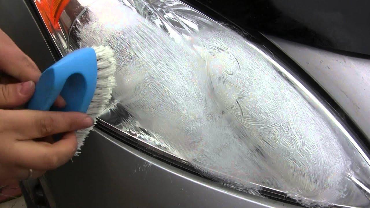 Полировка стекла фар своими руками: обработка стеклянных поверхностей 20