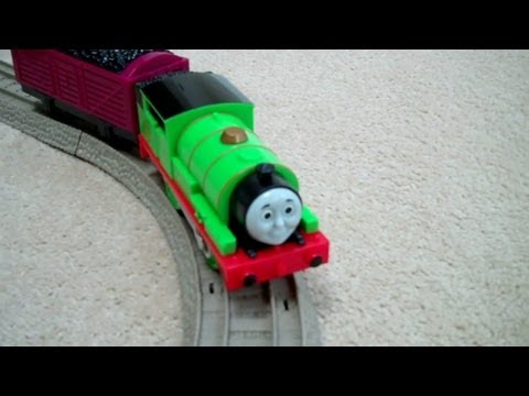 TALKING PERCY Thomas And Friends Trackmaster Kids Toy Train Set Thomas The Tank Engine