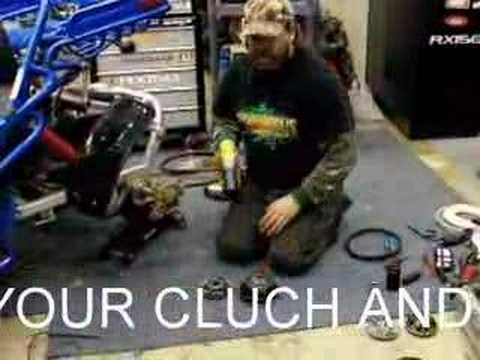 150 HAMMERHEAD GOCART BUILDUP PART 3 CLUCH and VARIATOR