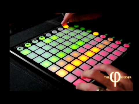 Novation Launchpad & Ableton Live - Performace