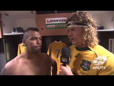 France Tour 2014: Post match interviews with the Honey Badger