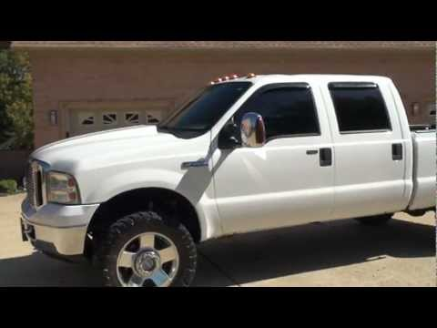 2006 FORD F 250 CREW CAB 4X4 DIESEL LEATHER FOR SALE SEE WWW SUNSETMILAN COM