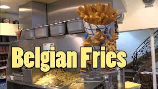 Belgian Fries - Our 2nd day in Brussels