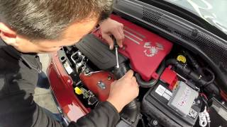 500 MADNESS - How To Remove the Factory Engine Cover - ABARTH/500T