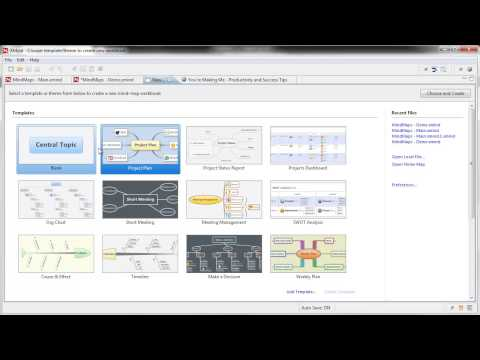 XMind Review - Mind Mapping Software - Visual Mapping Review Series 2013