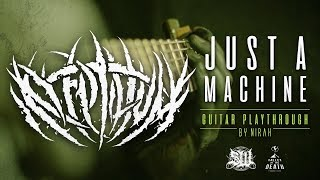 REPTILIUM - JUST A MACHINE [OFFICIAL GUITAR PLAYTHROUGH] (2019) SW EXCLUSIVE