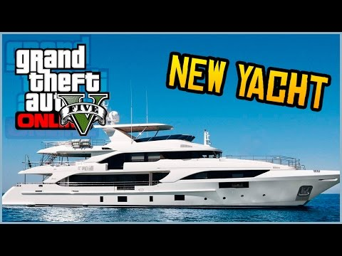 GTA 5 Online - NEW YACHT FOUND IN GTA 5! (Future DLC News)