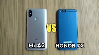 MI A2 vs HONOR 7X - SPEED TEST!!