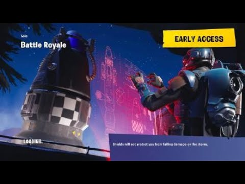 First Game With The Omega!!!!!!!! (Fortnite Battle Royale)